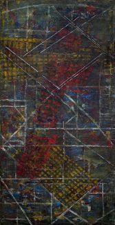 AEROPORTURI (III) - 100/200cm pictură acrilic pe pânză © Florin Constantinescu